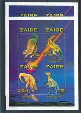 [316240] Zaire 1996 Dinosaurs 2x good sheet Perf + Imperf very fine MNH