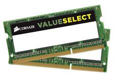 16GB Corsair Value Select DDR3 SODIMM 1600MHz CL11 Dual Channel Laptop Kit 2x8GB