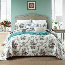 Luxury 100%25Cotton Coverlet / Bedspread Set King & Super King Size Bed 230x270cm