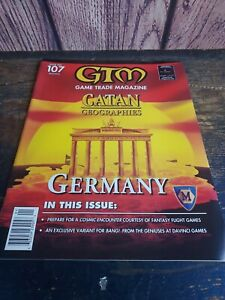 GTM Game Trade Magazine January Issue 107 Catan Geographies Germany ☆
