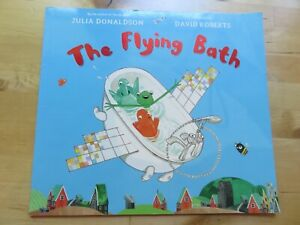 The Flying Bath by Julia Donaldson - English - Sehr Guter Zustand