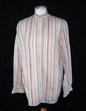 Lauren Ralph Lauren soft washed linen shirt with stripes, petite large P/L 14