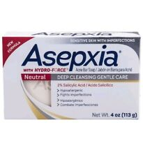 Asepxia W/Hydro Force Acne Soap Bar Neutral Sensitive W/Imperfections 4oz [B14]