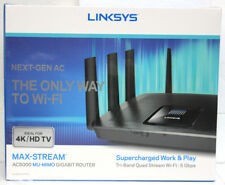 NEW Linksys EA9400 Tri-Band Wireless-AC5000 MAX-STREAM MU-MIMO Gigabit Router