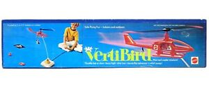 Vintage 1971 Mattel VertiBird Helicopter Astronaut Rescue Mint New Sealed Box
