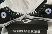 Converse All-Star Chuck Taylor Black High Top Sneakers Size Men's 4 Women's 6