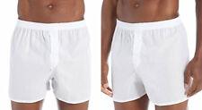 Mens White Underwear Boxer Shorts Big Size XXL XXXL XXXXL Extra Large Trunks