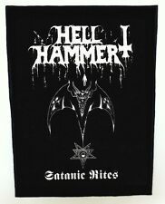 HELLHAMMER BACKPATCH / SPEED-THRASH-BLACK-DEATH METAL