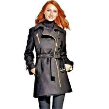 Faux Leather Winter Trench Coats & Jackets for Women | eBay