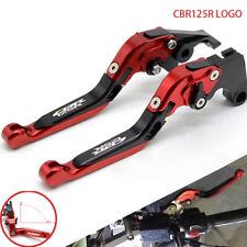 HONDA Adjustable Folding Extending Brake Clutch Levers CBR125 CBR125R 2011-2014