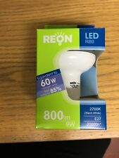 9W Reon Reflector LED R80 E27 Warm White (Non-Dimmable) 2700k