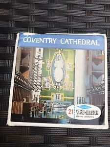 Viewmaster Reels Of Coventry Cathedral In All Its Splendour