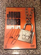 John Cena Signed WWE Word Life DVD PSA/DNA Quick Opinion