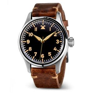 Geckota K-01 Type A 40mm ETA-2824 Pilot's Watch / RRP £379