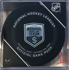 Внешний вид - Just Out…..2021-2022 Seattle Kraken Official Game Puck (Inaugural Game 10/23/21)