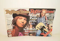 """2 Rolling Stone Magazines Tom Petty 1991 & Tom Petty """"King of The Road 1995"""