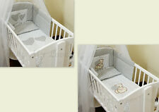 Crib Bumper approx.130cm long/Soft Paded to fit Crib/Cradle 90/40cm S A L E !!!
