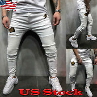 Men Long Casual Sport Pants Gym Slim Fit Trousers Running Soft Gym Sweatpants