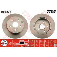 Bremsscheibe, 1 Stück TRW DF4829
