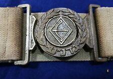 Gadna Jewish youth battalions belt Israel vintage Hakky color copper