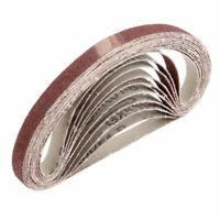 10 X 330*10mm Abrasive Sanding Belts 40-600 Grit Sander Grinding Polishing Tools