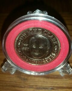 1994 SAN FRANCISCO 49ERS THEN AND NOW DWIGHT CLARK COIN W DISPLAY STAND! NM/MT!