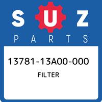 13781-13A00-000 Suzuki Filter 1378113A00000, New Genuine OEM Part