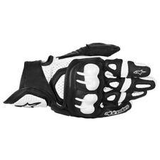 Guanti traspiranti neri marca Alpinestars per motociclista