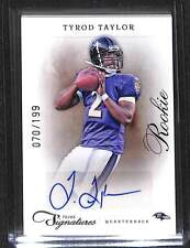 2011 Panini Prime Signatures Autograph #214 Tyrod Taylor No 70 of 199