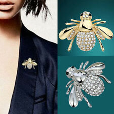 Fantastic Pin Chic Rhinestone Animal Brooch Jewelry Cute Bee Brooches Pins SMS