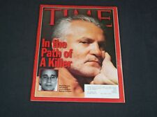 1997 JULY 28 TIME MAGAZINE - GIANNI VERSACE AND ANDREW CUNANAN- T 2934