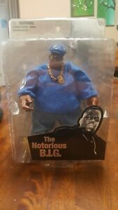 Mezco Biggie Smalls Notorious B.I.G. Blue Suit Variant Life After Death Figure