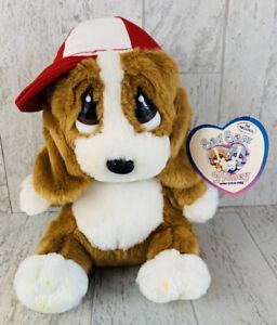 """NWT Huggy Sad Sam Aurora 7.5"""" Plush Puppy Dog Item #15362"""