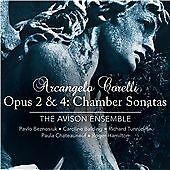 Corelli: Opus 2 & 4: Chamber Sonatas - Hybrid SACD plays on all CD players, Avis