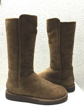 UGG CLASSIC LUXE COLLECTION ABREE TALL BRUNO SUEDE Boot US 9 / EU 40 / UK 7.5