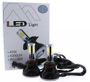 Kit luce XENON LED 12V 24V CANBUS 6000K Xeno no errori H1,H3,H4,H7,H8,H9, cambus