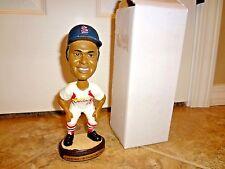 St Louis Cardinals Lou Brock Bobblehead Busch Stadium SGA 2004 HOF RARE W/ Box