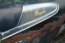 1959 Dodge Royal and Others: Right Rear Door Trim