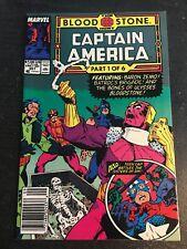 "Captain America#357 Incredible Condition 8.5(1989)"" Bloodstone""Teen Cap!!"