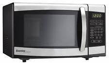 Danby Countertop Microwave Oven, 0.7 cu.ft., Black and Stainless Steel