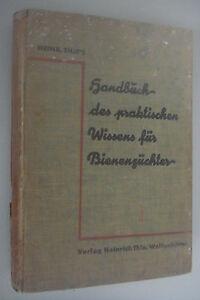 Heinr.Thie`s Handbuch des praktischen Wissens für Bienenzüchter Fachbuch 1925