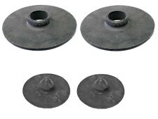 For BMW E30 325i etc Spring Pad Set Rear Upper+Lower OES
