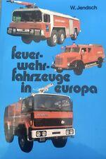 Feuer-wehr-fahrzeuge in Europa- European Fire vehicles- German language--1991