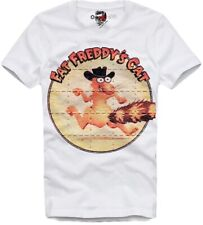 "E1SYNDICATE T SHIRT ""FAT FREDDY'S CAT"" LSD BLOTTER TRIP ART AYAHUASCA DMT 5513"