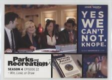 2013 Press Pass Parks and Recreation Seasons 1-4 #68 Win Lose or Draw Card 2a1