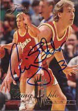 Craig Ehlo Atlanta Hawks Personally Autographed Card