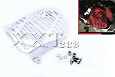 Silver Radiator Grille Guard Cover Protector For YAMAHA NMAX155 N MAX 155 15-16
