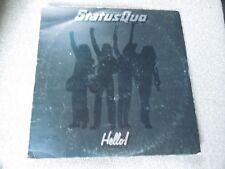 Status Quo Hello LP RARE