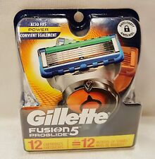 Gillette Fusion5 ProGlide Men's Razor Blades Refills, 12 Count 1 Year Supply