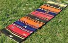 Turkish Handmade Colorful Carpet Scandinavian Kilim Traditional Runner Rug 2x6ft